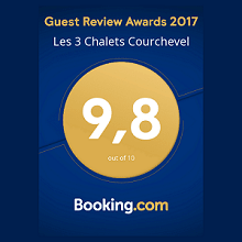 Guest rewiew awards les 3 chalets courchevel